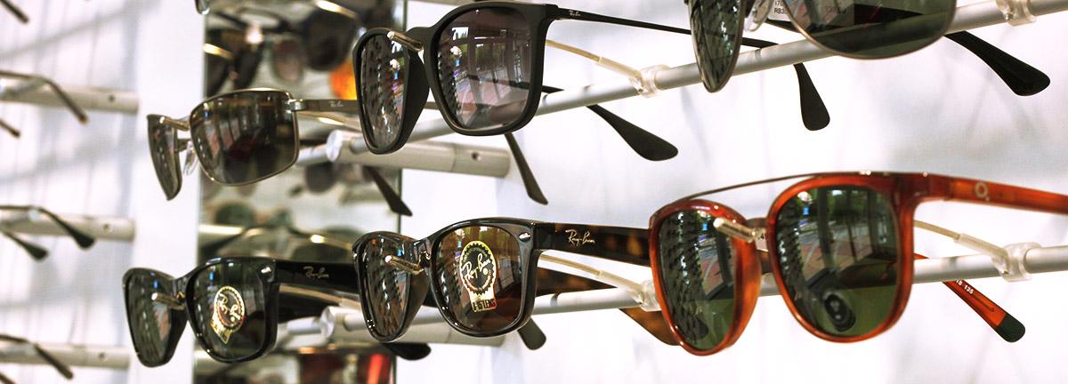 Sonnenbrillen Optik am Rathaus