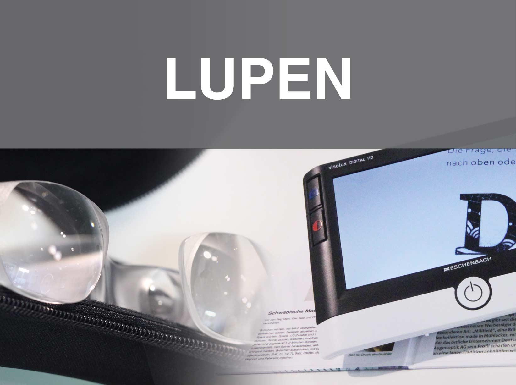 Lupen und Lesehilfen bei Optik Lohfelden