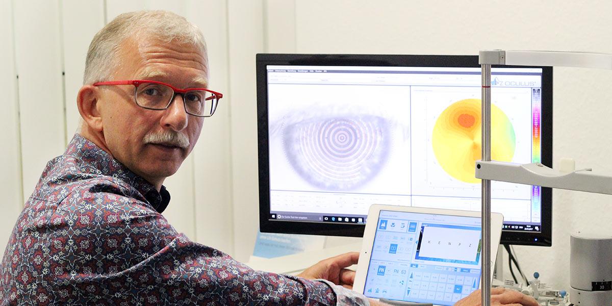 Thomas Schmidt - staatl. geprüfter Augenoptiker und Augenoptikermeister, Inhaber Optik am Rathaus