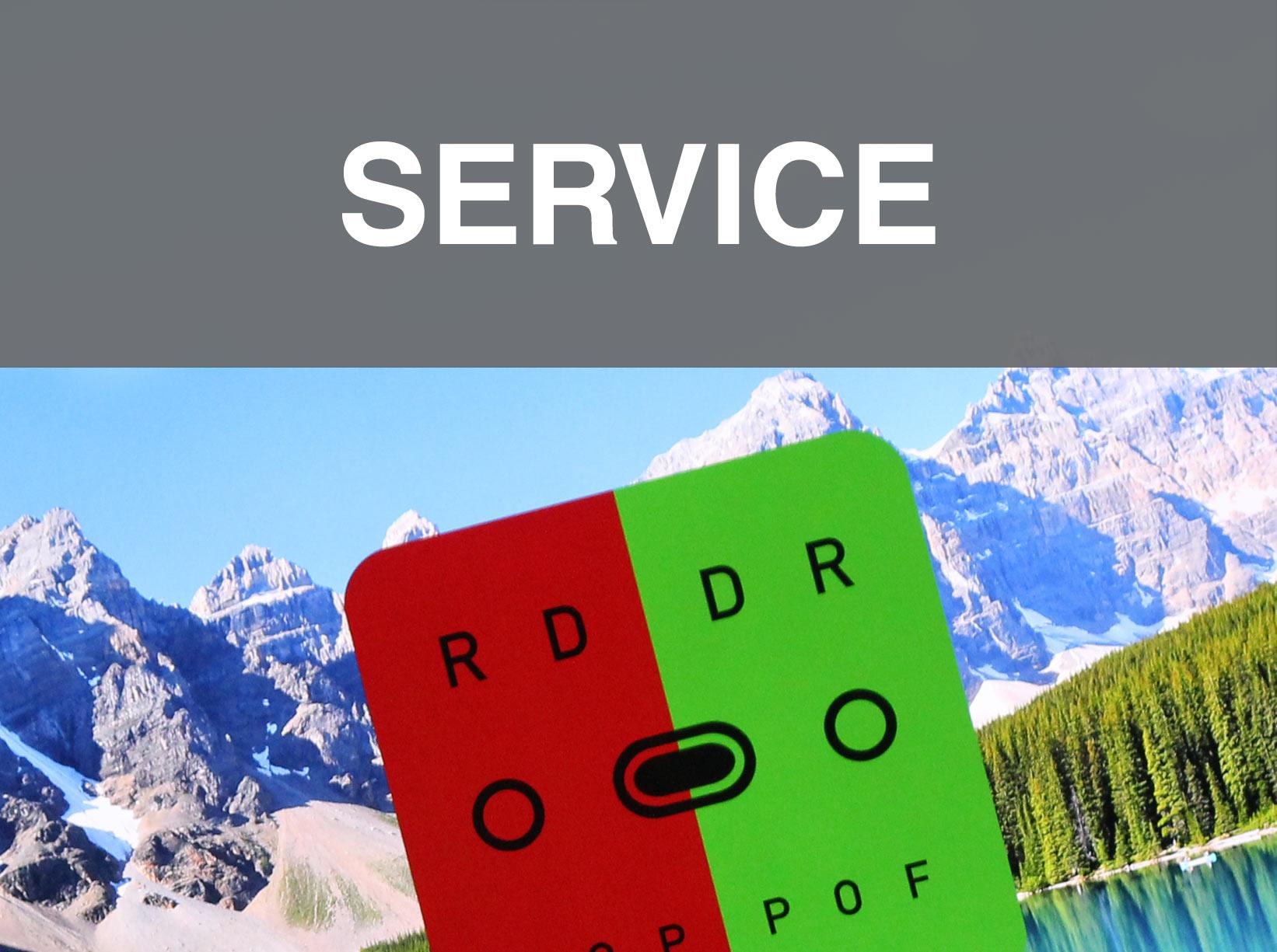 Service bei Optik Lohfelden