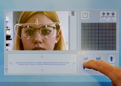 Videozentriersystem