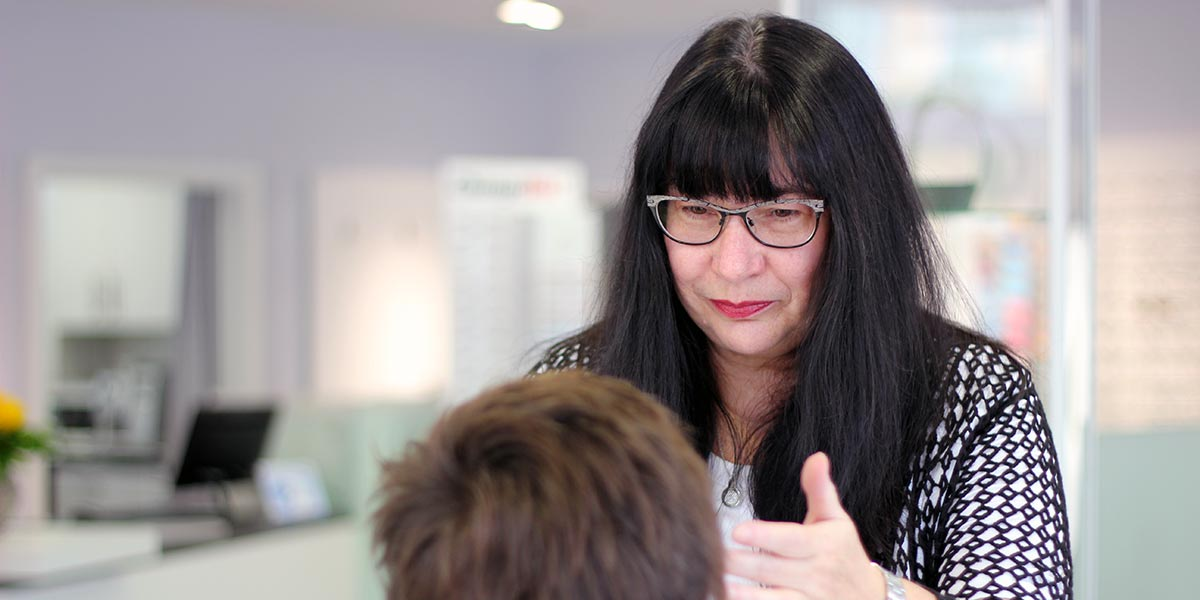 Dominique Tetzner - Augenoptikergesellin